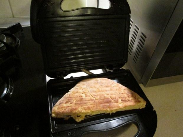 domowy kebab bułka